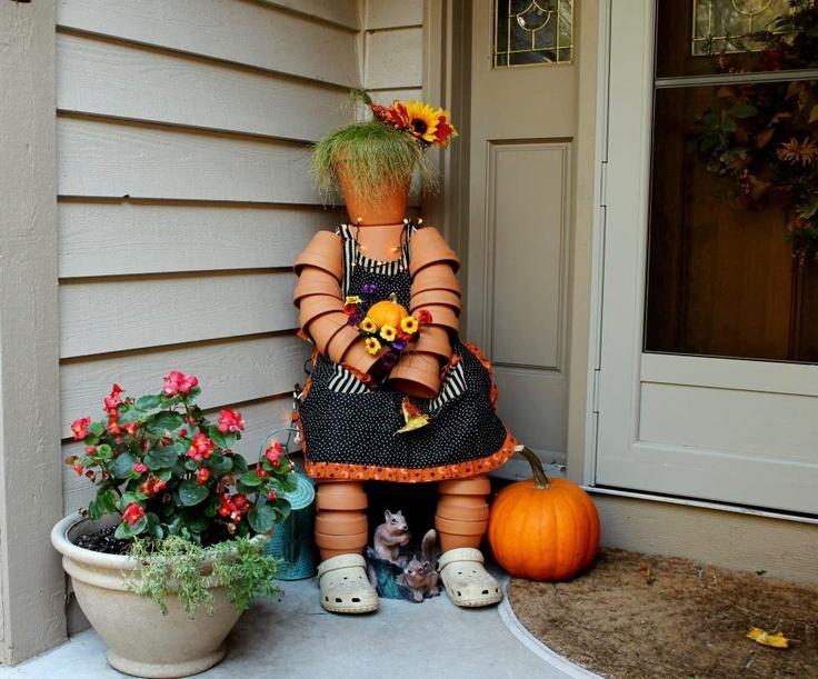 45 best Terra cotta pot people images on Pinterest | Clay pot crafts ...