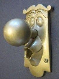 Alice in Wonderland Door Knob