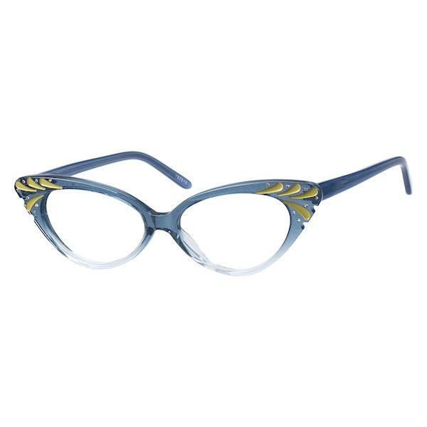 7cc6e2ca58d 187616 Acetate Full-Rim Frame with Spring Hinges Eye Prescription