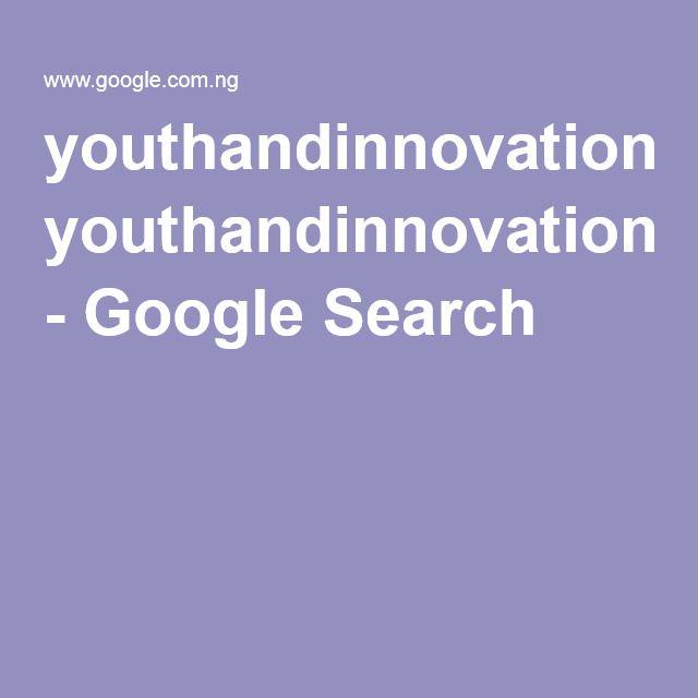 youthandinnovation - Google Search