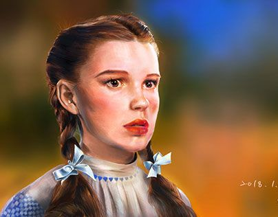 """Check out new work on my @Behance portfolio: """"Dorothy in The Wizard of Oz"""" http://be.net/gallery/61714063/Dorothy-in-The-Wizard-of-Oz"""