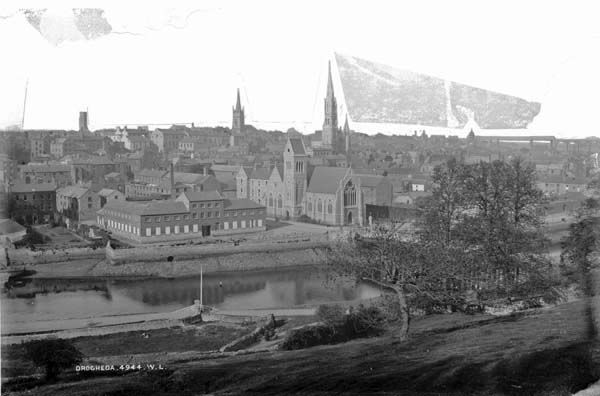 Drogheda, Co. Louth by French, Robert, 1841-1917 photographer Published / Created: [between ca. 1865-1914].