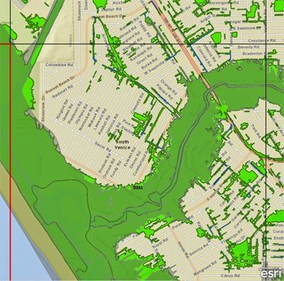 Map Of Venice Florida.New Fema Flood Zone Map For South Venice Fl Venice Fl Real
