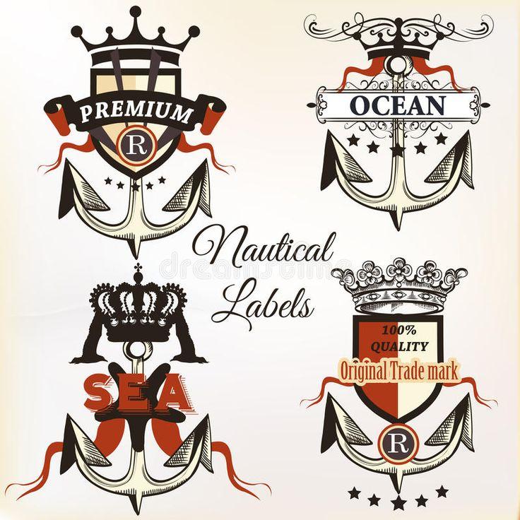 Vector Los Logotipos O La Etiqueta Náuticos Antiguos Con El Ancla - Descarga De Over 64 Millones de fotos de alta calidad e imágenes Vectores. Inscríbete GRATIS hoy. Imagen: 83349775