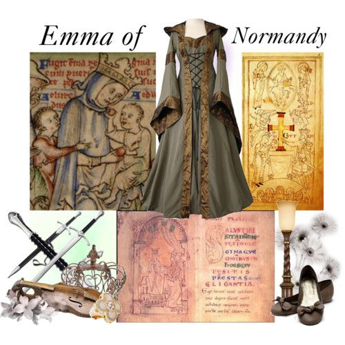 Emma of Normandy (c.985 March 1052 in Winchester, Hampshire), was daughter of Richard the Fearless, Duke of Normandy, by his second wife Gunnora. She was Queen consort of England twice, by successive marriages: first as second wife to Æthelred the Unready of England (1002–16); and then second wife to Cnut the Great of Denmark (1017–35). Two of her sons, one by each husband, and two stepsons, also by each husband, became kings of England, as did her great-nephew, William the Conqueror.