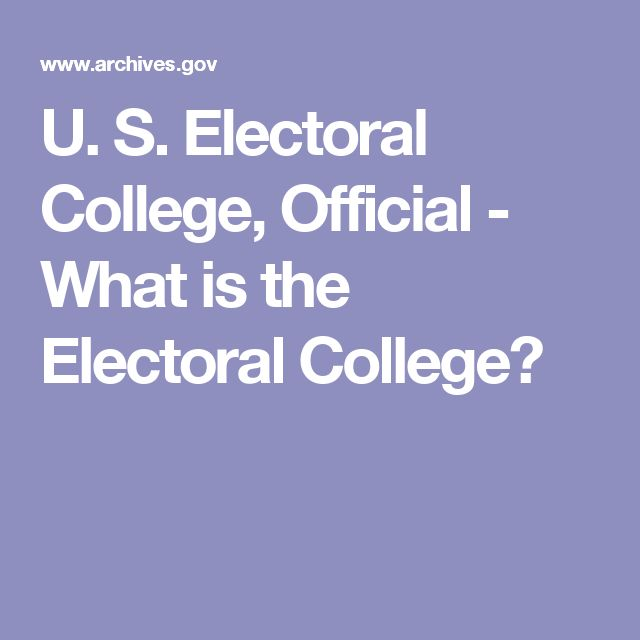 essay in support of the electoral