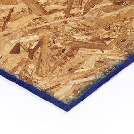 OSB Sheathing 7/16 CAT PS2-10 (Common: 7/16-in; Actual: .437-in x 3-ft 11.5-in x 7-ft 11.93-in); Would need 22 panels for wall sheathing (not for roof). $167.00.