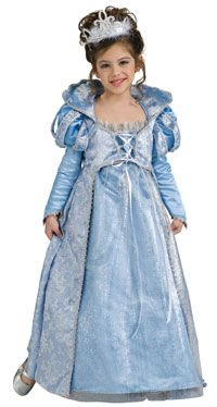 Super Deluxe Cinderella Princess Costume - Princess Costumes