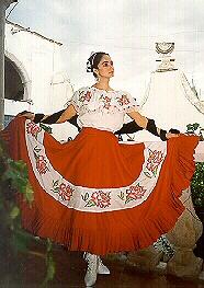 el traje tipico de Zacatecas