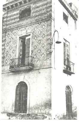 Casa del Conde de Roche, calle del Porcel, hoy calle del Conde de Roche
