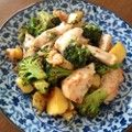 チキンとブロッコリーのガリバタ炒め♬ by pumママ