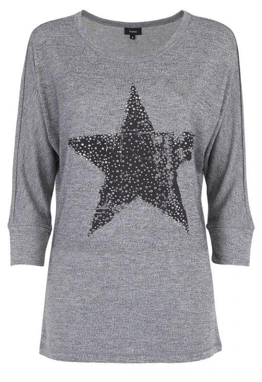 Fransa Harose T-shirt Black Mix - Bluser/Strik - MaMilla