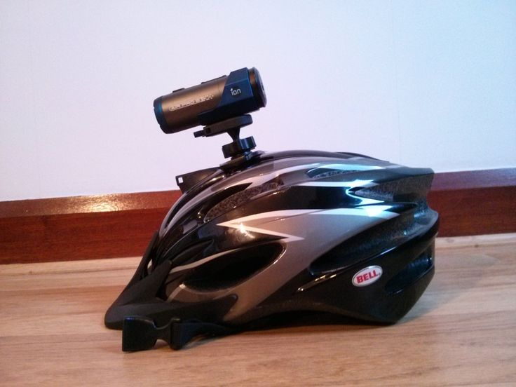 Make an Ion Airpro cycle helmet mount