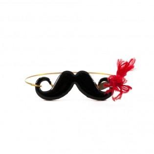 Sex Moustache Bileklik  #tarz #original #interesting #tasarım #moda #tasarımcı #kırmızı #design #style #fashion #red #moustache #sex #wristlet #wrist #band #bıyık  #bileklik #bilezik #black #bracelet #stylish #chic