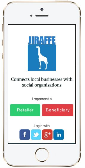 We will revolutionize the way you help others. Fast, easy to use, global. IOS & Android app https://www.indiegogo.com/projects/1st-smart-app-to-fight-food-waste-hunger-jiraffe/x/8859577