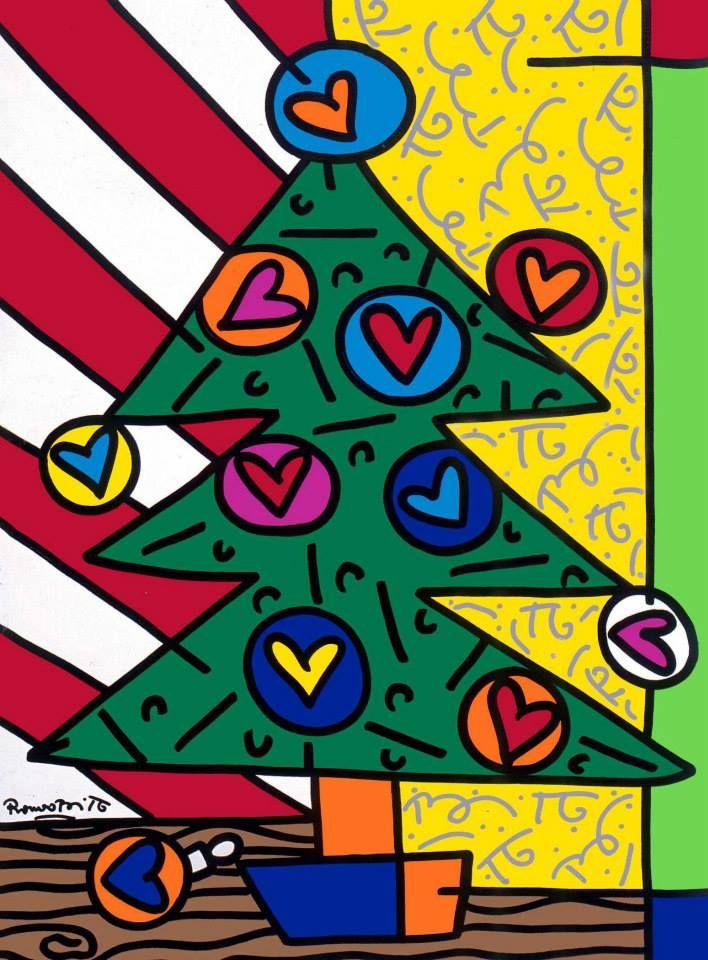 Romero Britto Christmas.