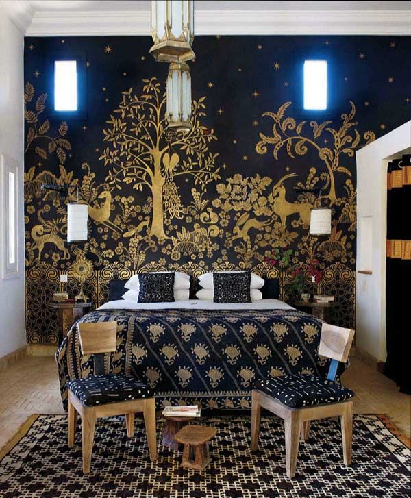 1000 ideas about moroccan stencil on pinterest cutting for Bedroom stencils designs