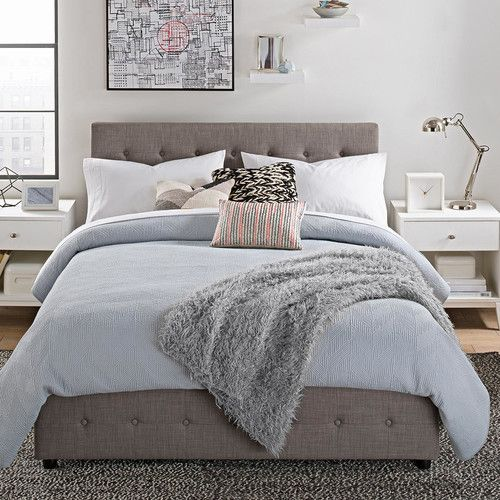 Found it at AllModern - Morphis Upholstered Storage Panel Bed
