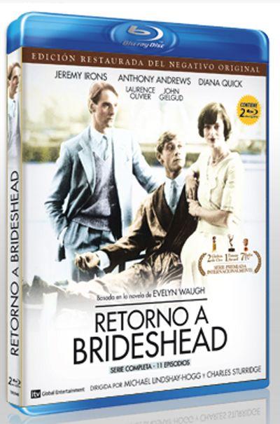 Retorno a Brideshead [Vídeo] / dirigida por Michael Lindsay-Hogg y Charles Sturridge Q Cine 4225 http://encore.fama.us.es/iii/encore/record/C__Rb2640628?lang=spi
