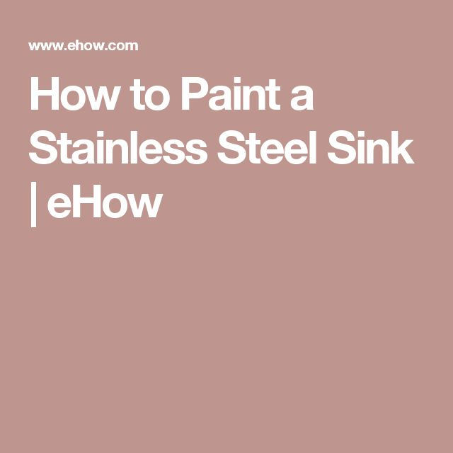 10 Best Ideas About Stainless Steel Sinks On Pinterest