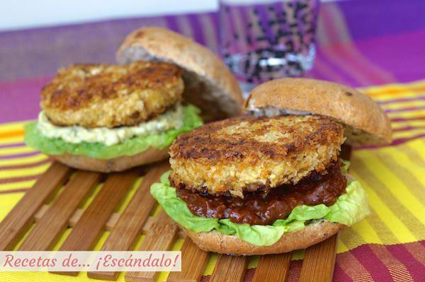 Una receta deliciosa de hamburguesas vegetarianas - Hacer hamburguesas vegetarianas ...