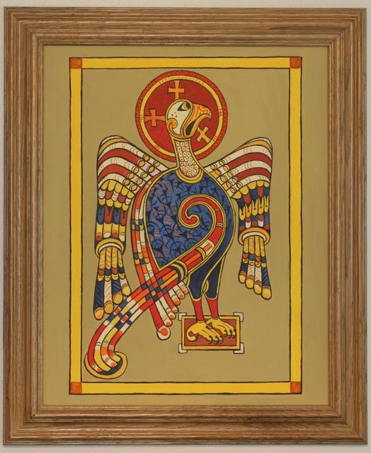 St. John's eagle, from the Book of Kells.