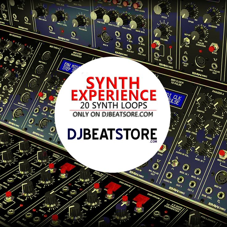 Synth Experience Pack – 20 Synth Loops 26.00 € 18.99 € This pack contains 20 synth loops, unique and exclusively created for DJBeatStore.com  http://djbeatstore.com/product/synth-experience-pack-20-synth-loops/