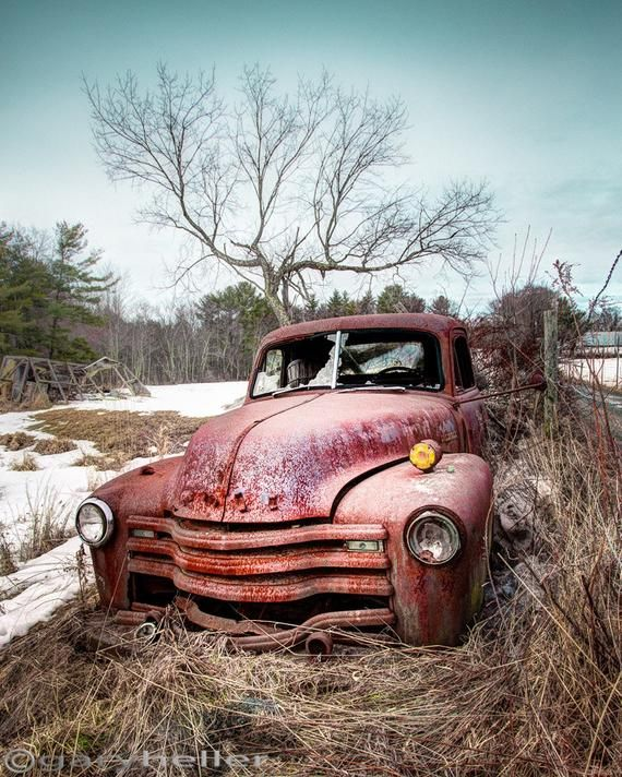 Country Chevrolet Abandoned Truck In Classic Americana Scene Signed Photography Print Of An Old Chevy Truck In The Country Abandoned Rust Old Truck Photography Chevy Trucks Vintage Trucks