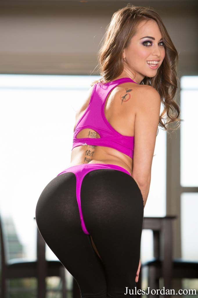 Riley reid yoga pants