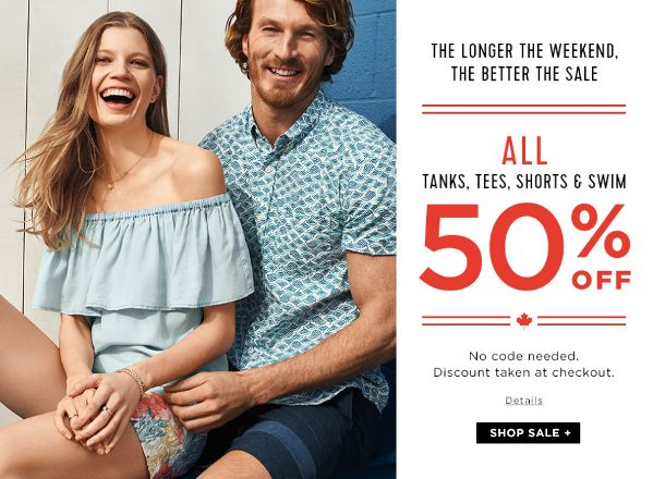 OLD NAVY: EVERYTHING 50% OFF - iGet.Deals