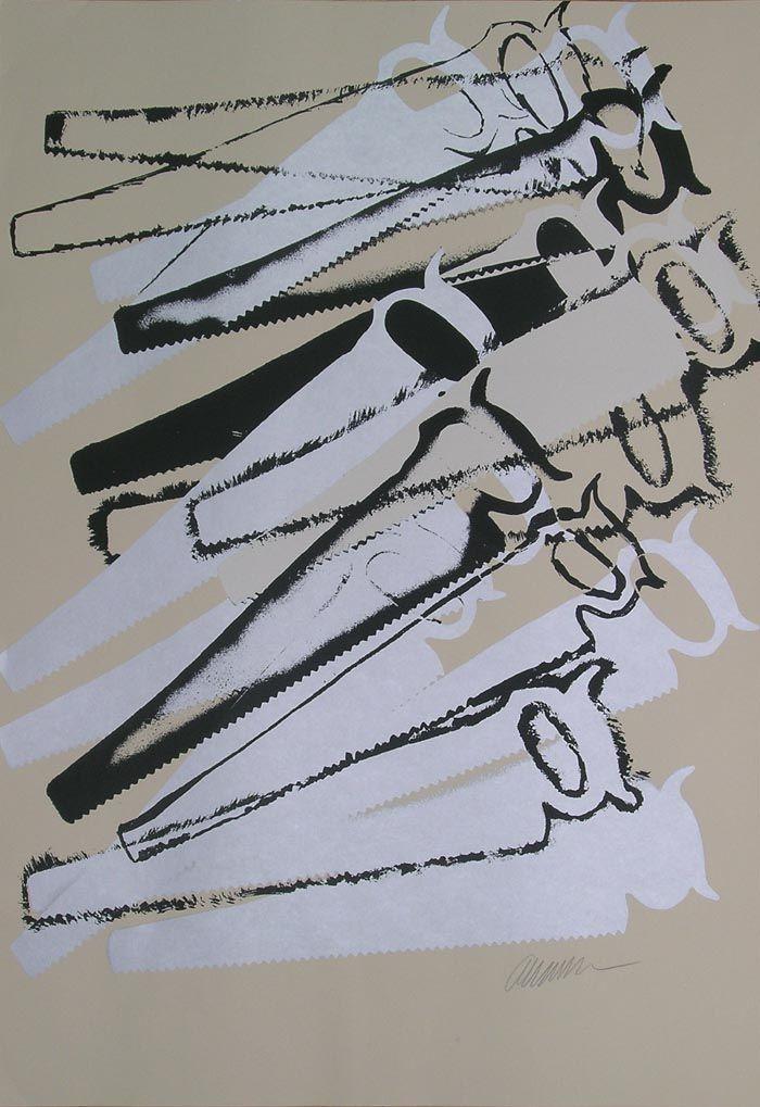 Fernandaz Arman Ses 1ères peintures, les Cachets, composent des images abstraites à partir d'empreintes d'objets trempés d'encre, jusqu'au jour où il prend conscience que l'objet lui-même peut être encore plus signifiant que son image ainsi reportée.