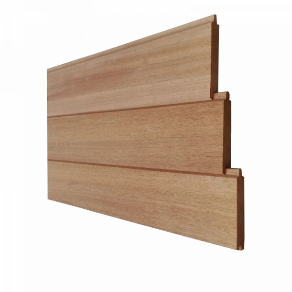 Ecohout   Tuinwand Thermisch hout