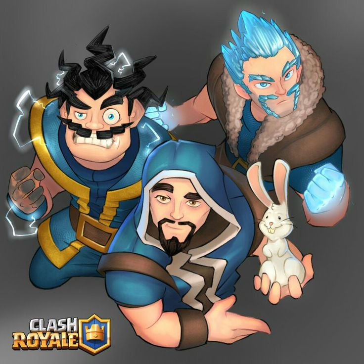 Wizard family (Electro,wizard and, ice)