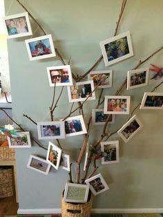 Árvore com as famílias