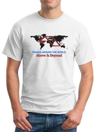 #AboveBeyond T-Shirt Trance Around The World for men or women. Custom DJ Apparel for Disc Jockey, Trance and EDM fans. Shop more at ARDAMUS.COM #djclothing #djtshirt #djapparel #djclothes #djteeshirts #dj #tee #discjockey