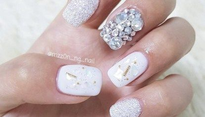 50 Inspiring Winter Wedding Nails Ideas Wedding Nail Colors