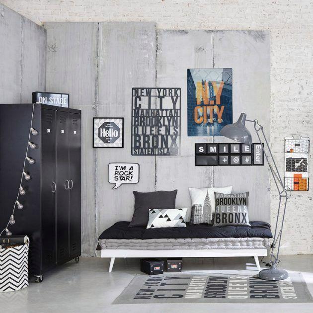 Elegant Deco New York Chambre Ado Deco Chambre Ado Garcon Deco Chambre Garcon Idee Deco Chambre Garcon