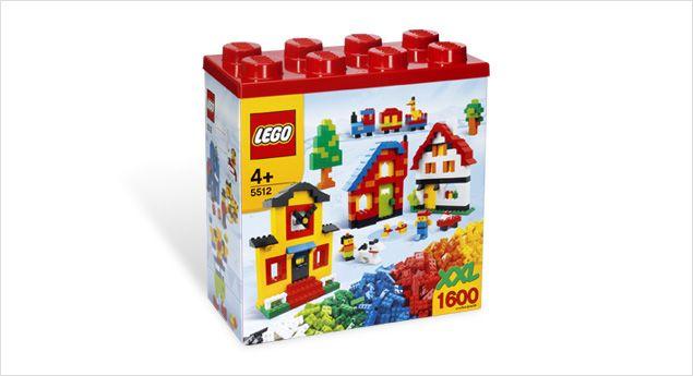 5512 - LEGO XXL Box (1600 bricks) {retired product}