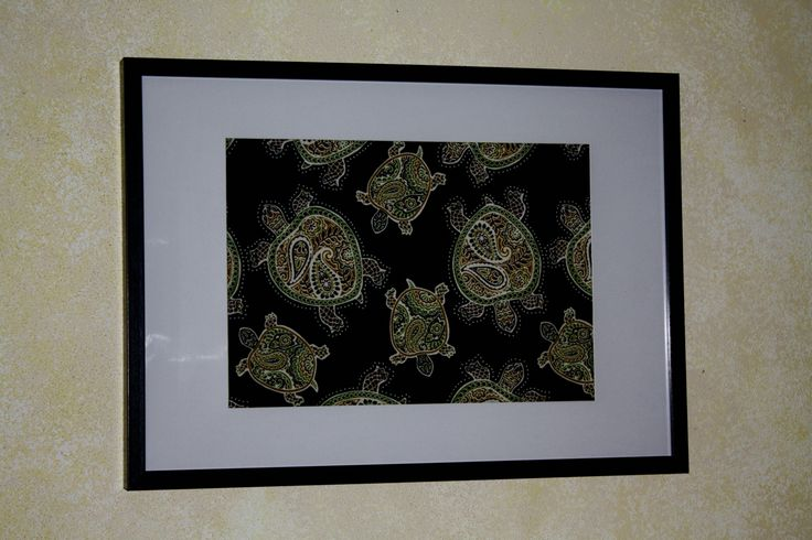 Tranquil Turtles Black Sand By: Tommy Bahama Frame Size: 60cm x 42cm (Also available in 70cm x 50cm)