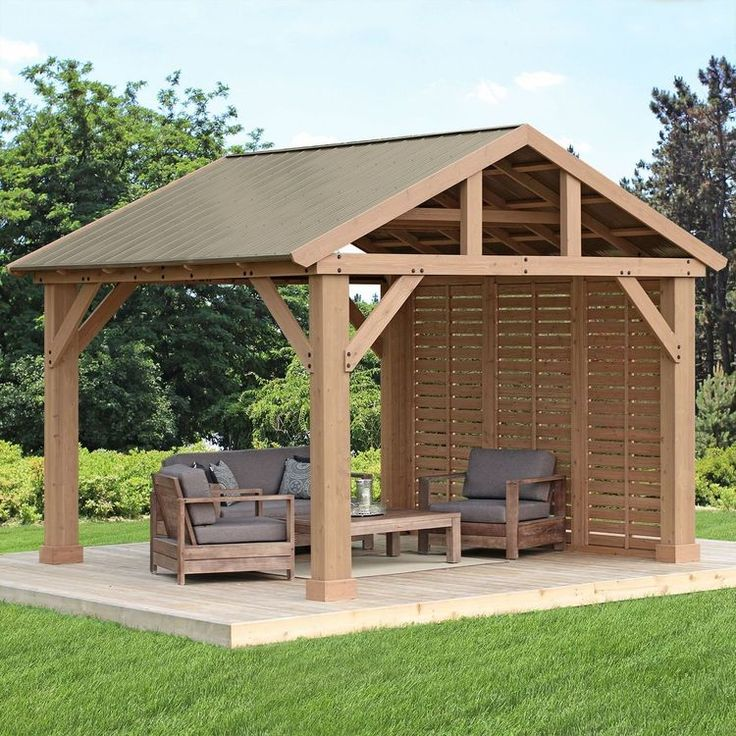 12′ Pavilion Privacy Wall