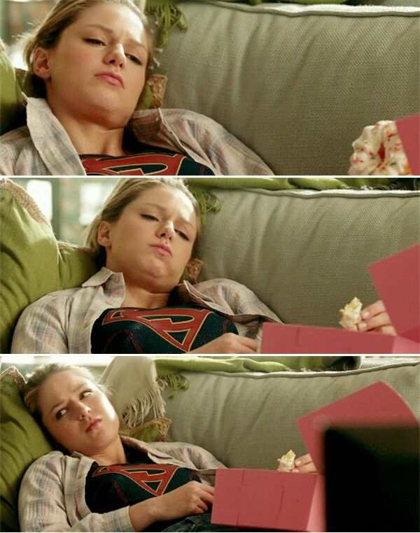 Kara is me. This is me everyday. #Supergirl #1x17