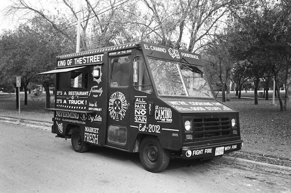 A Food Truck Branded With Hand-Painted, Vintage-Inspired Typography - DesignTAXI.com