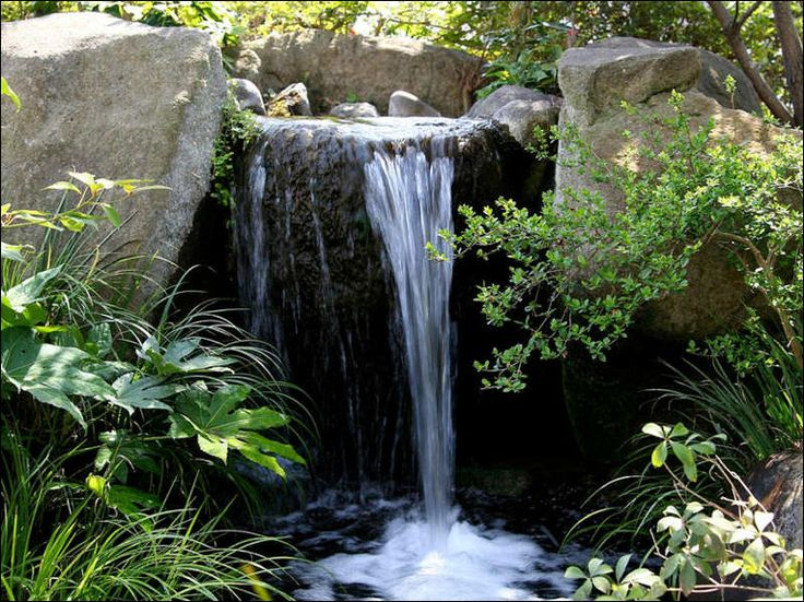 This Is Another Larger Scale Water Feature That Looks Attractive And  Natural. The Simple Plantings