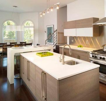 13 best t shape kitchen ideas images on pinterest contemporary unit kitchens kitchen ideas on t kitchen layout id=11664
