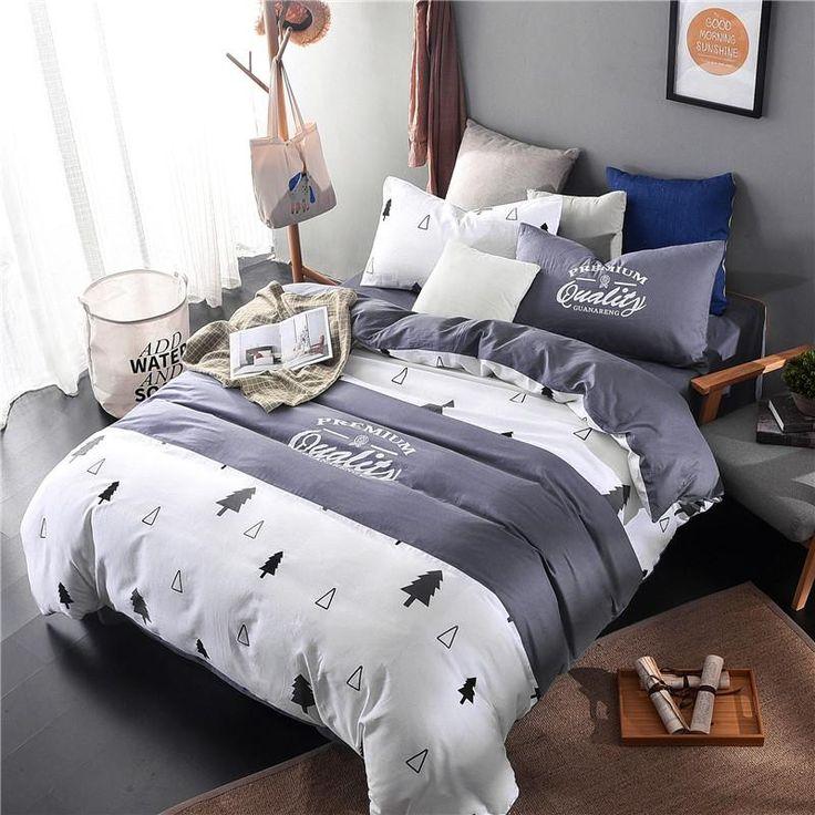 mediterranean garden bedding set duvet cover bed sheet pillow case/queen/twin size bed linen