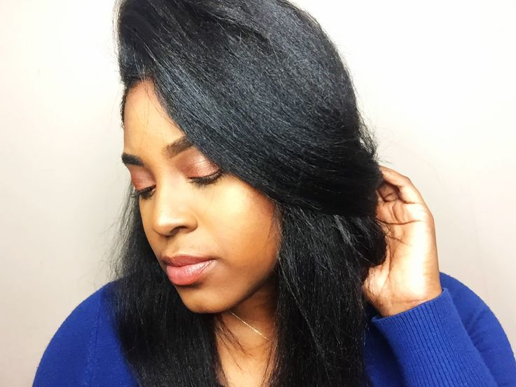 how to get soft relaxed hair