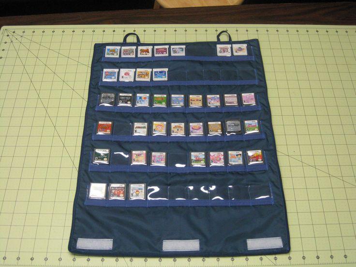 A DIY Nintendo DS cartridge case.