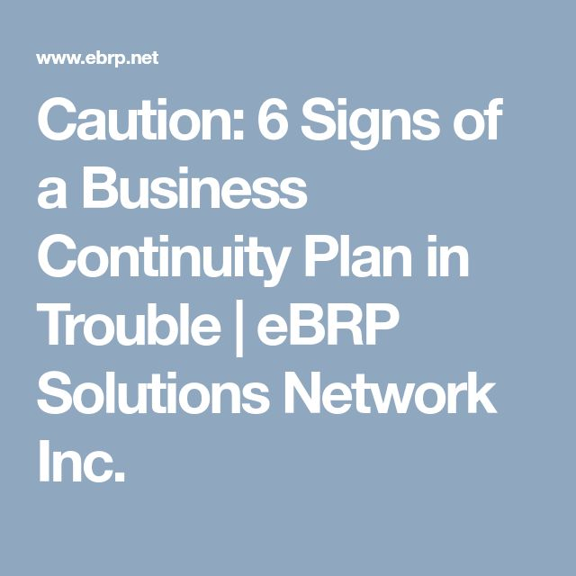 Best  Business Continuity Planning Ideas On