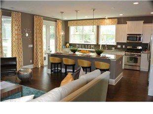 Gray and yellow kitchen remodel - LJKoike
