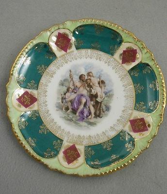 The Temptation of Hercules Dessert Plate